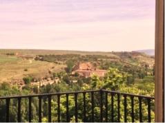 As seen from a castle window.