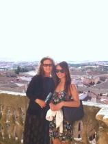 With Carlene!