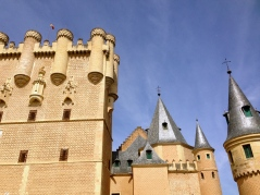 Disney was inspired by castles like these.