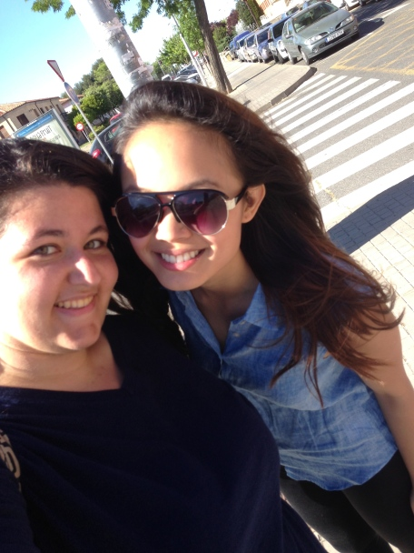 Julia and I!