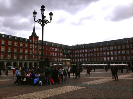 The Plaza Mayor.