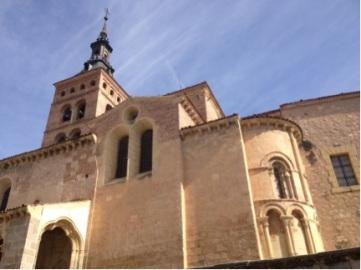The Church of San Martin.