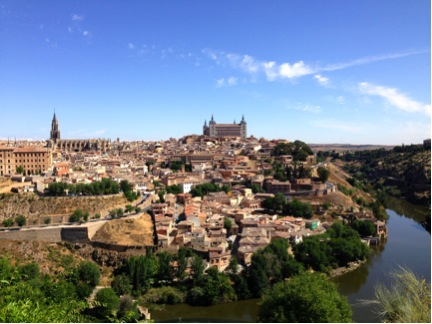 Toledo, from a distance.
