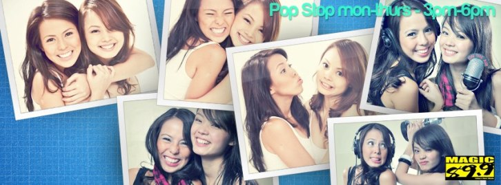 The Popstop! Mon-Thurs, 3-6 p.m. (Manila time :) )