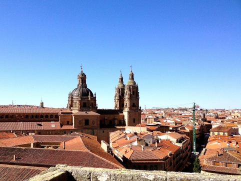 The Spanish sky: bluer and wider than anywhere else I've ever seen.