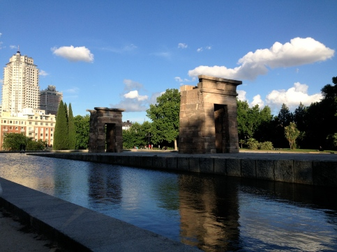 A park with real ancient Egyptian structures - only in Europe.