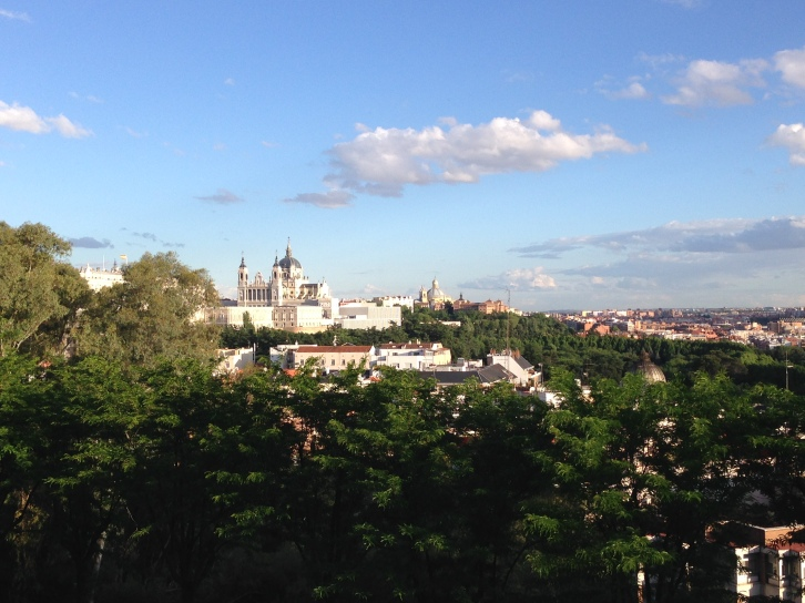 The best view of Madrid I've had this whole trip.