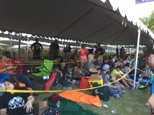 "Fans started camping out in line the day before Friday's ""Game of Thrones"" panel."